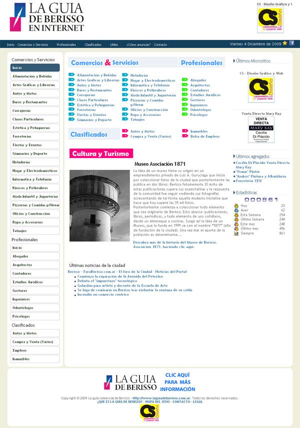 La guía de Berisso en internet